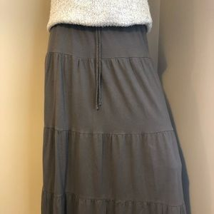 Sonoma brown knit skirt